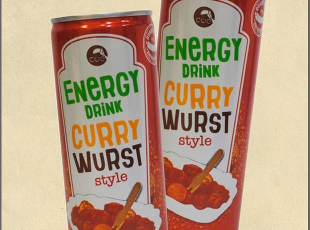 Germany: Curry Wurst Energy Drink